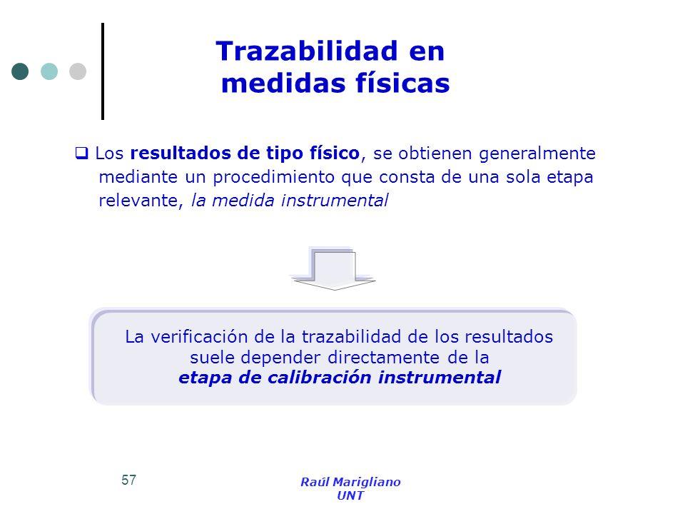 etapa de calibración instrumental