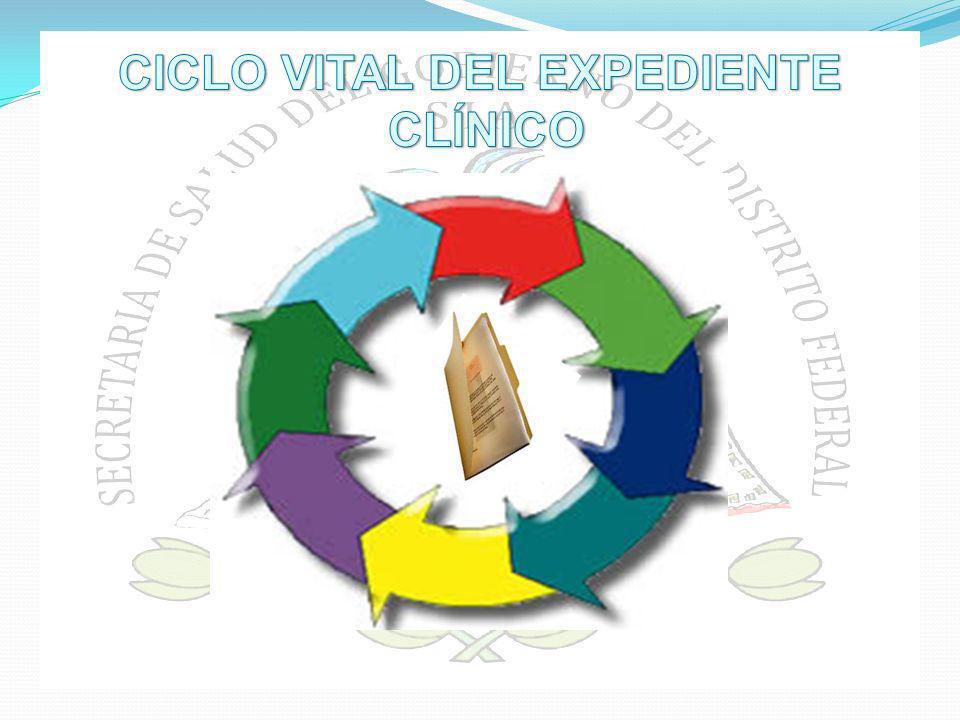 CICLO VITAL DEL EXPEDIENTE