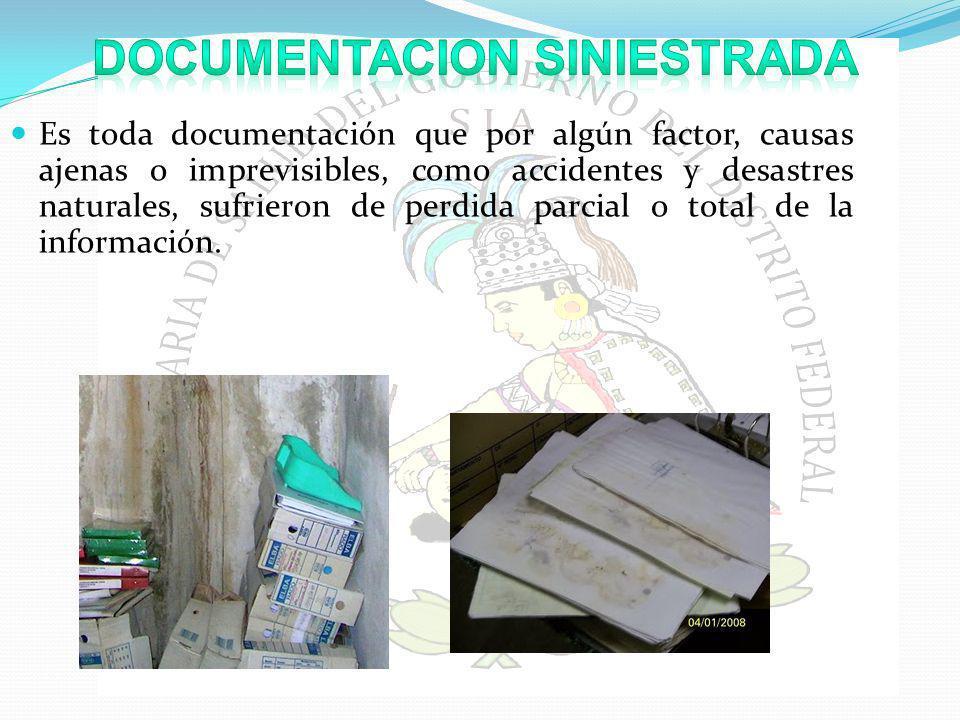 DOCUMENTACION SINIESTRADA