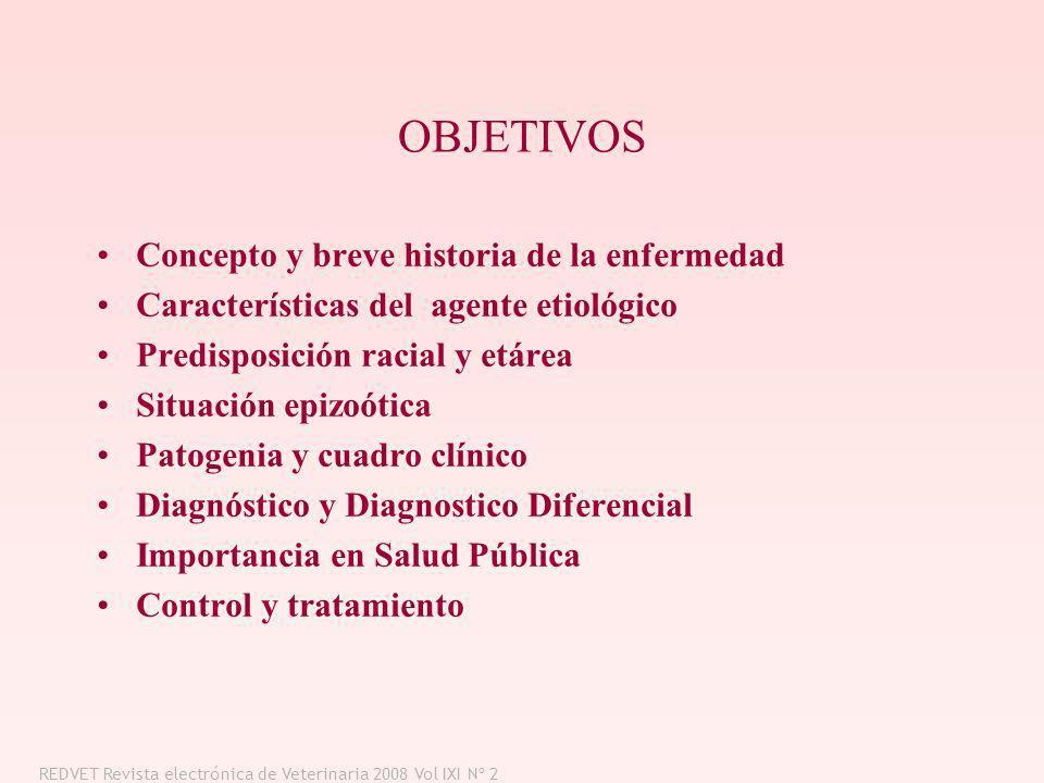 OBJETIVOS Concepto y breve historia de la enfermedad