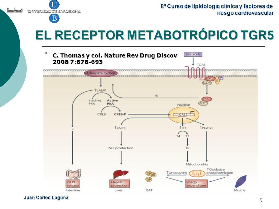 EL RECEPTOR METABOTRÓPICO TGR5