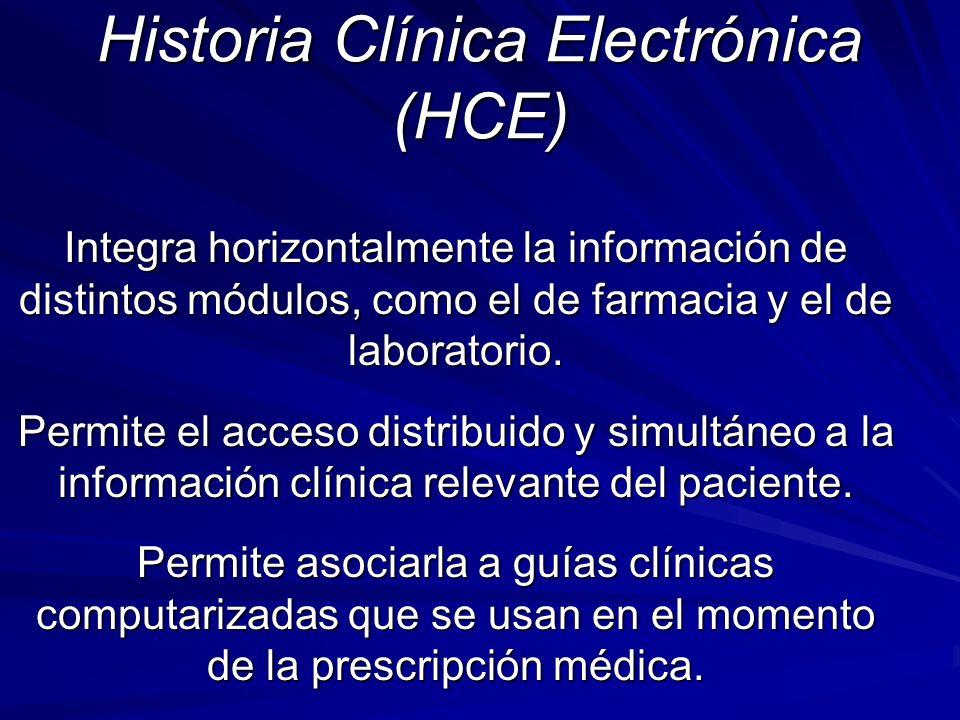 Historia Clínica Electrónica (HCE)