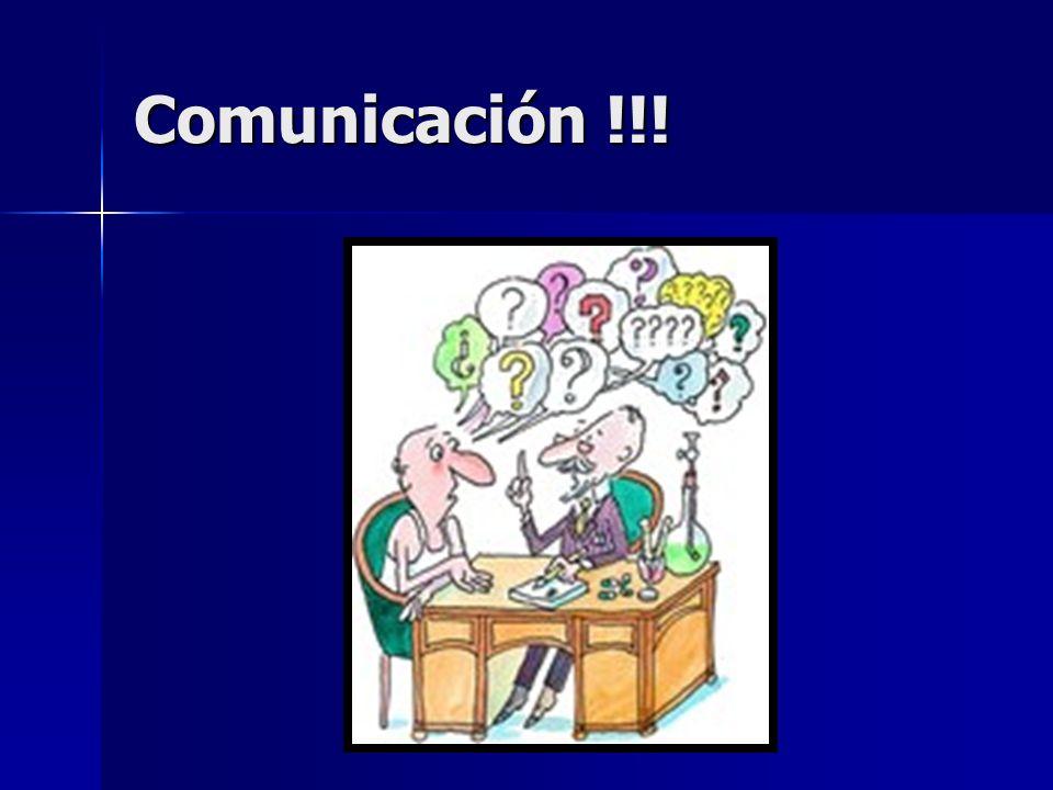 Comunicación !!!