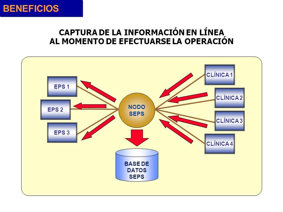 BENEFICIOS CAPTURA DE LA INFORMACIÓN EN LÍNEA