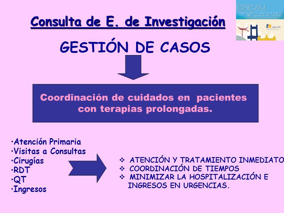 Consulta de E. de Investigación