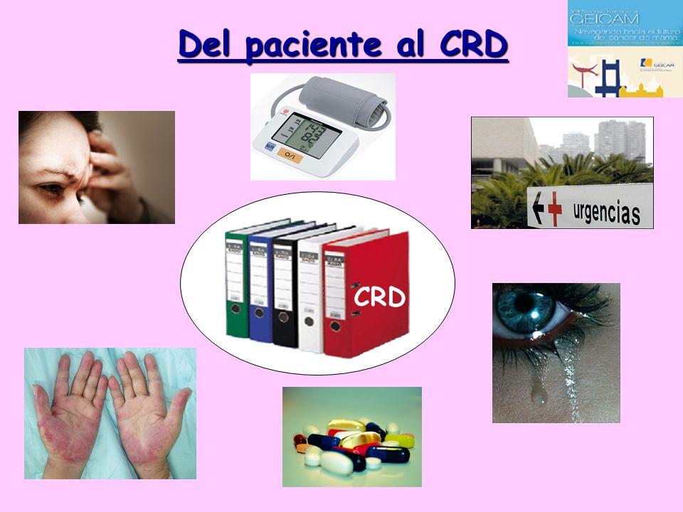 Del paciente al CRD CRD CRD