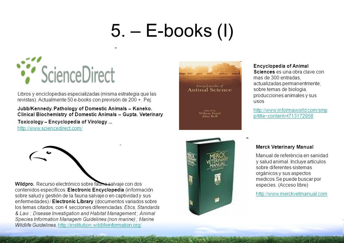 5. – E-books (I)