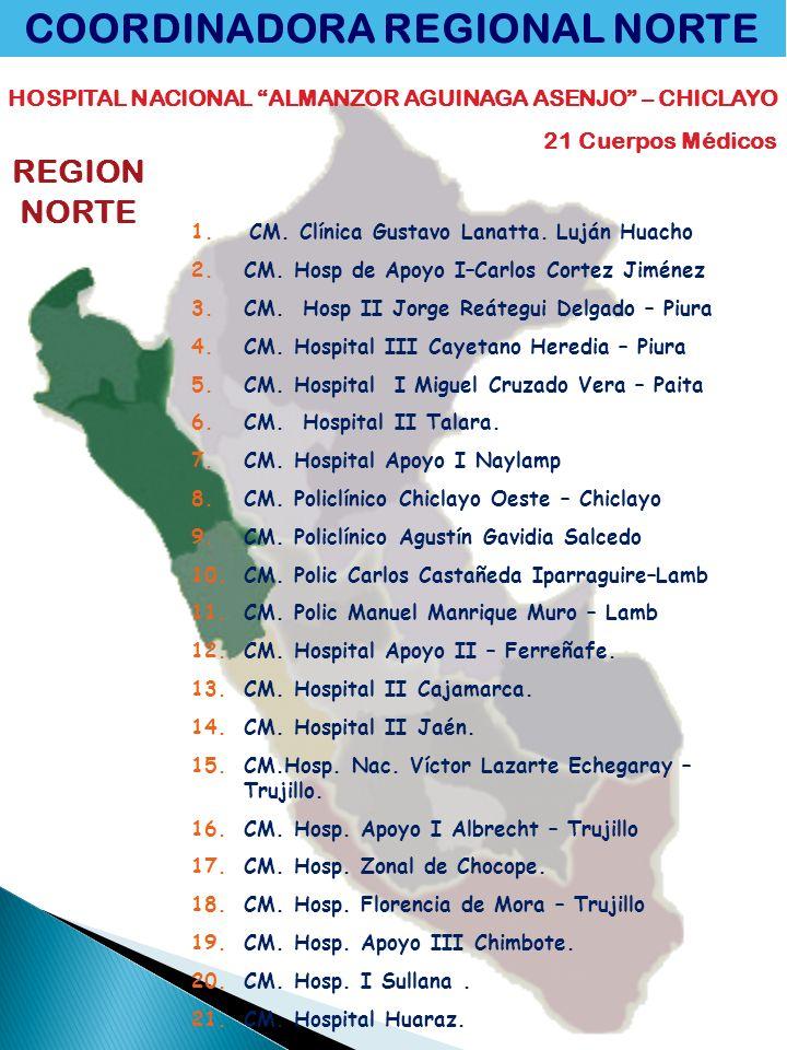 COORDINADORA REGIONAL NORTE