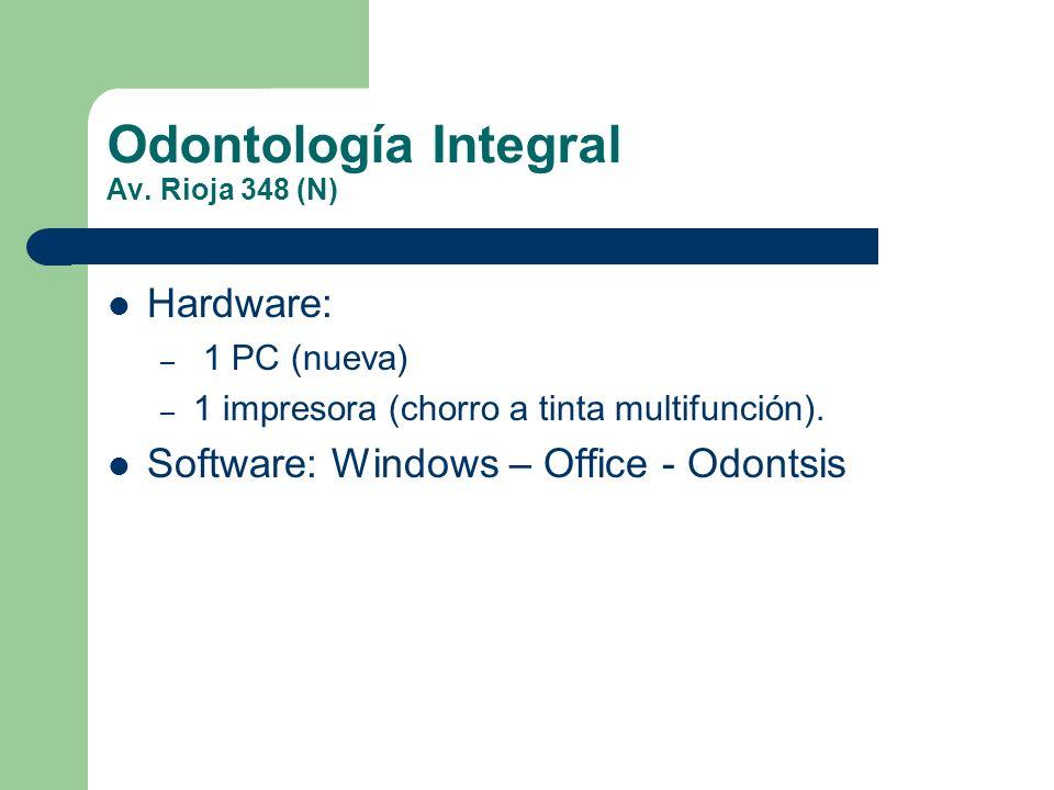 Odontología Integral Av. Rioja 348 (N)