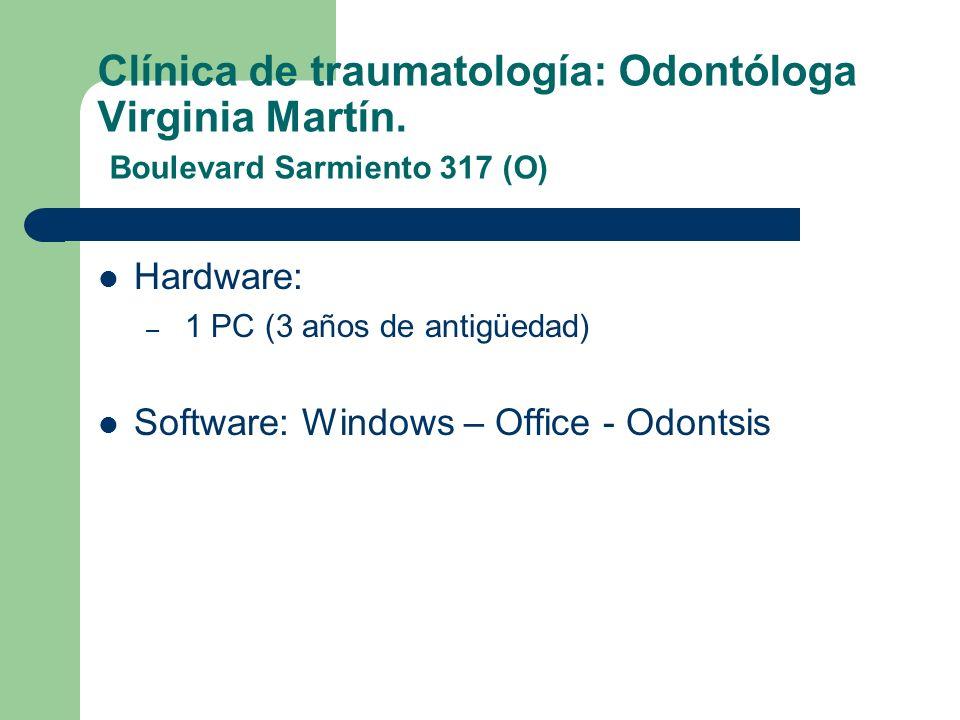 Clínica de traumatología: Odontóloga Virginia Martín