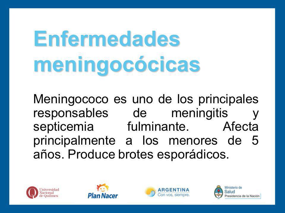 Enfermedades meningocócicas