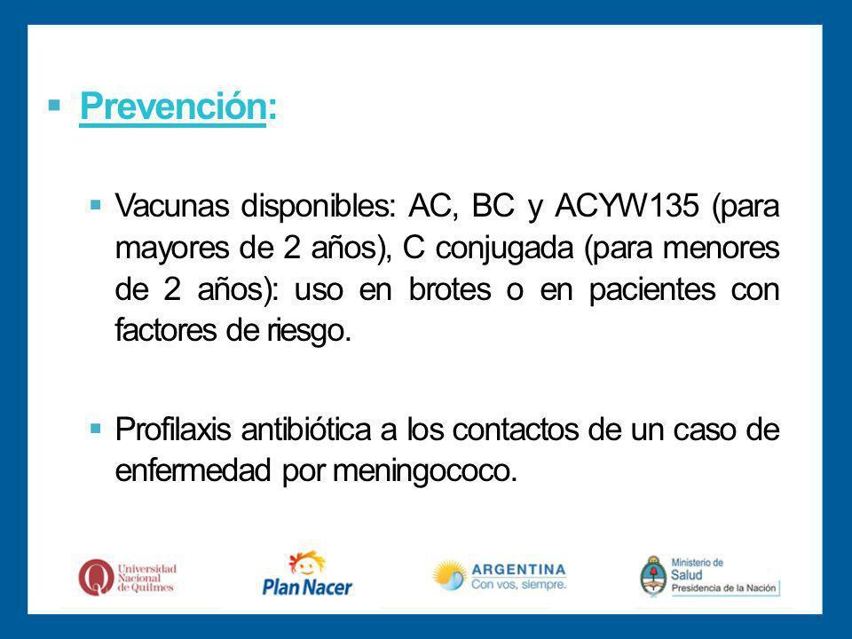 Prevención: