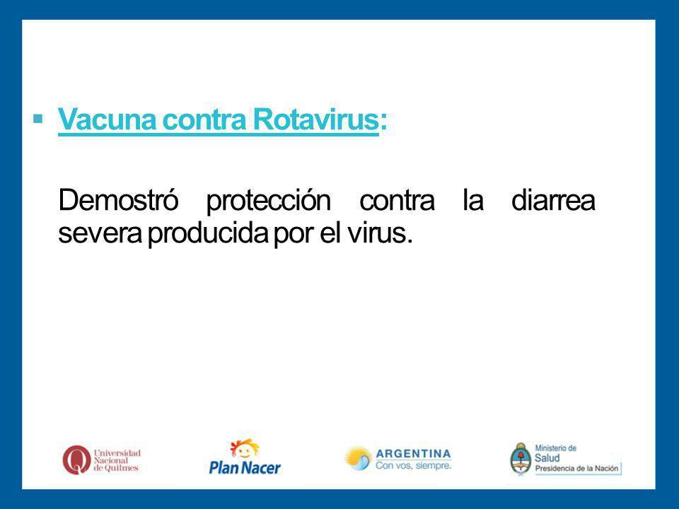 Vacuna contra Rotavirus: