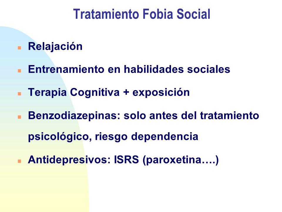 Tratamiento Fobia Social