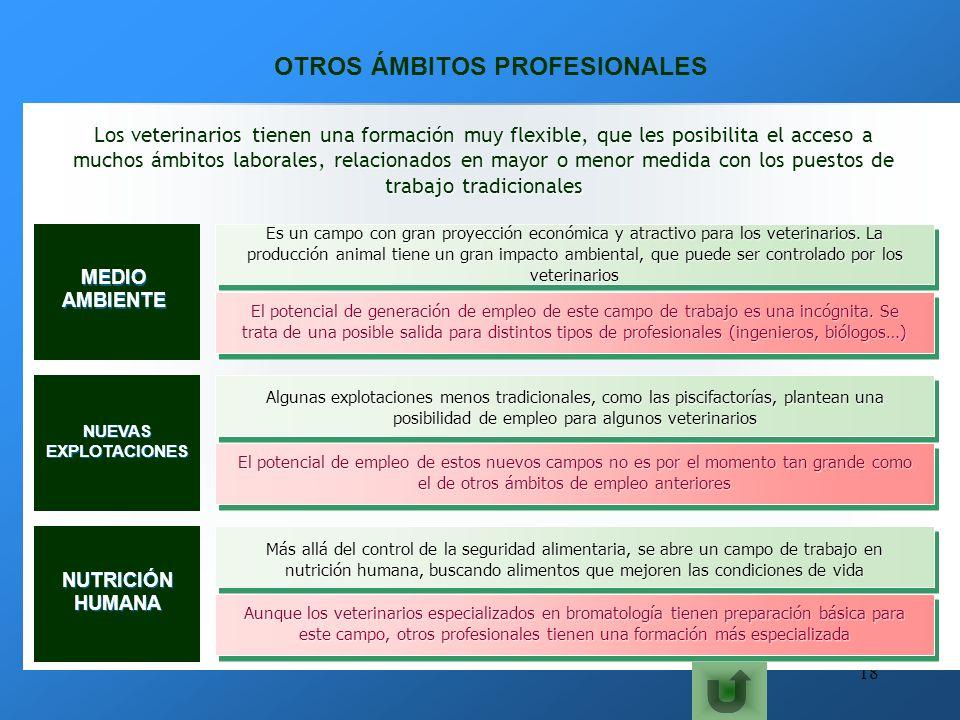 OTROS ÁMBITOS PROFESIONALES
