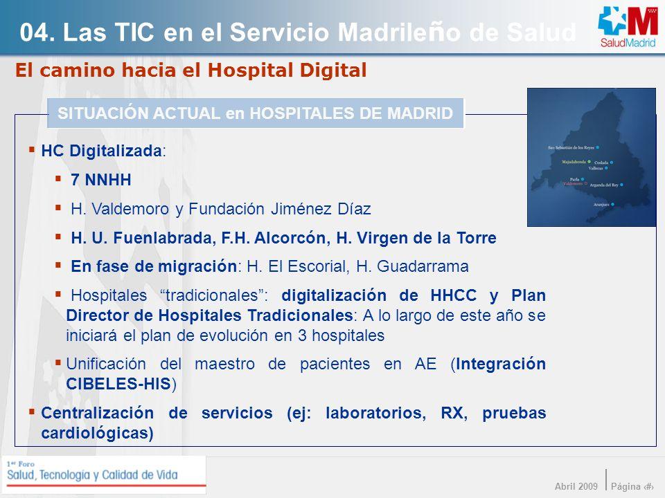 El camino hacia el Hospital Digital