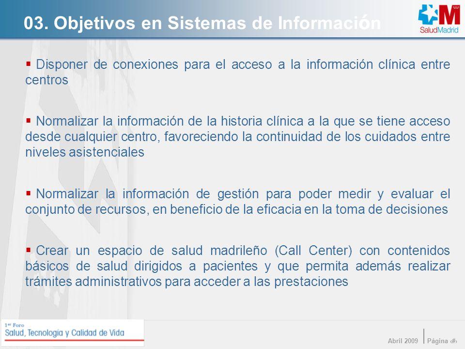 03. Objetivos en Sistemas de Información