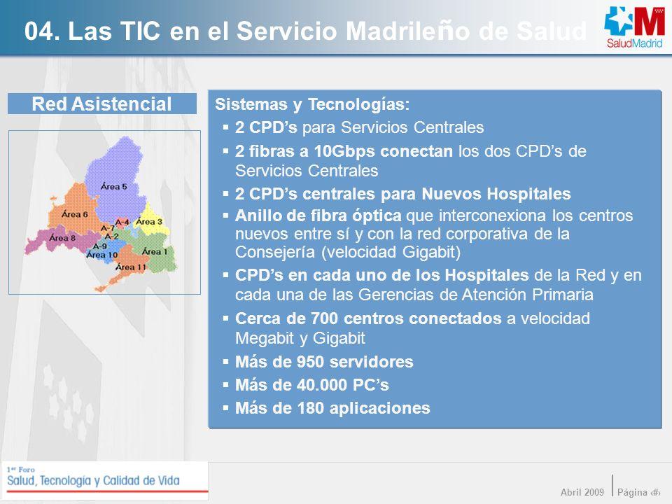 04. Las TIC en el Servicio Madrileño de Salud