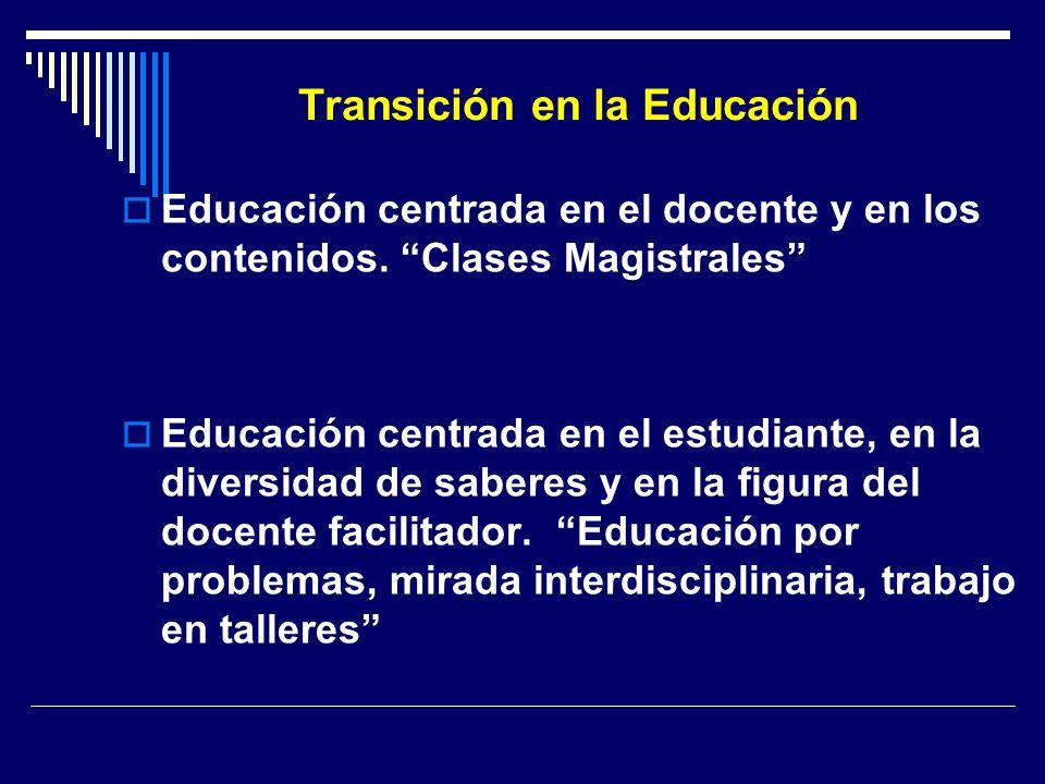 Transición en la Educación