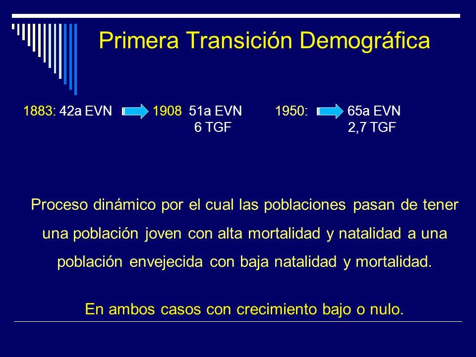 Primera Transición Demográfica