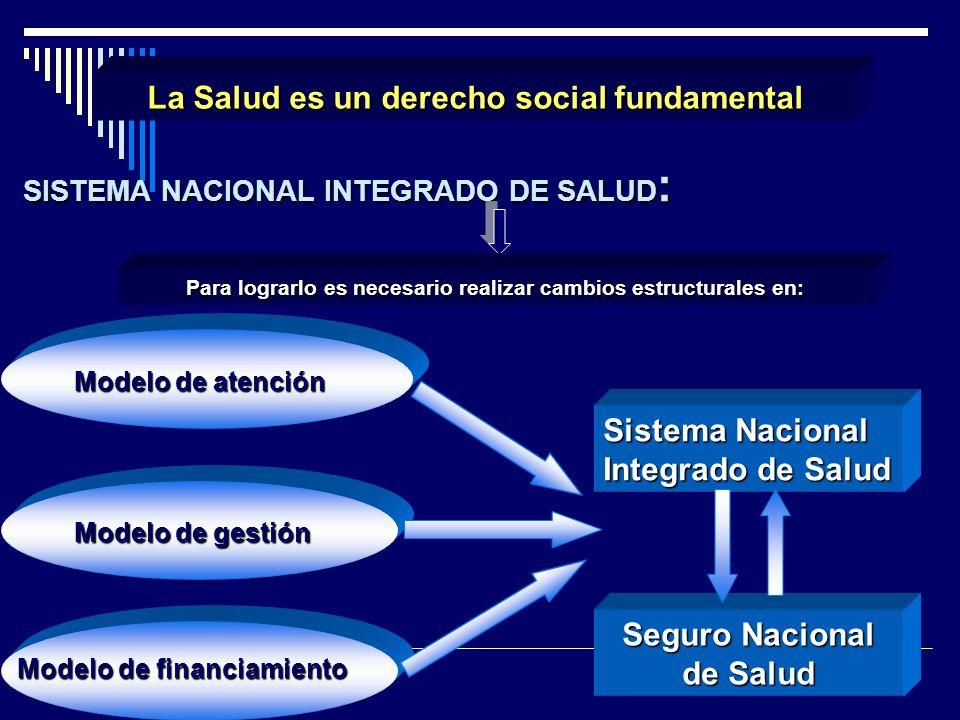 SISTEMA NACIONAL INTEGRADO DE SALUD: