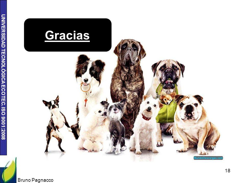 Gracias Bruno Pagnacco