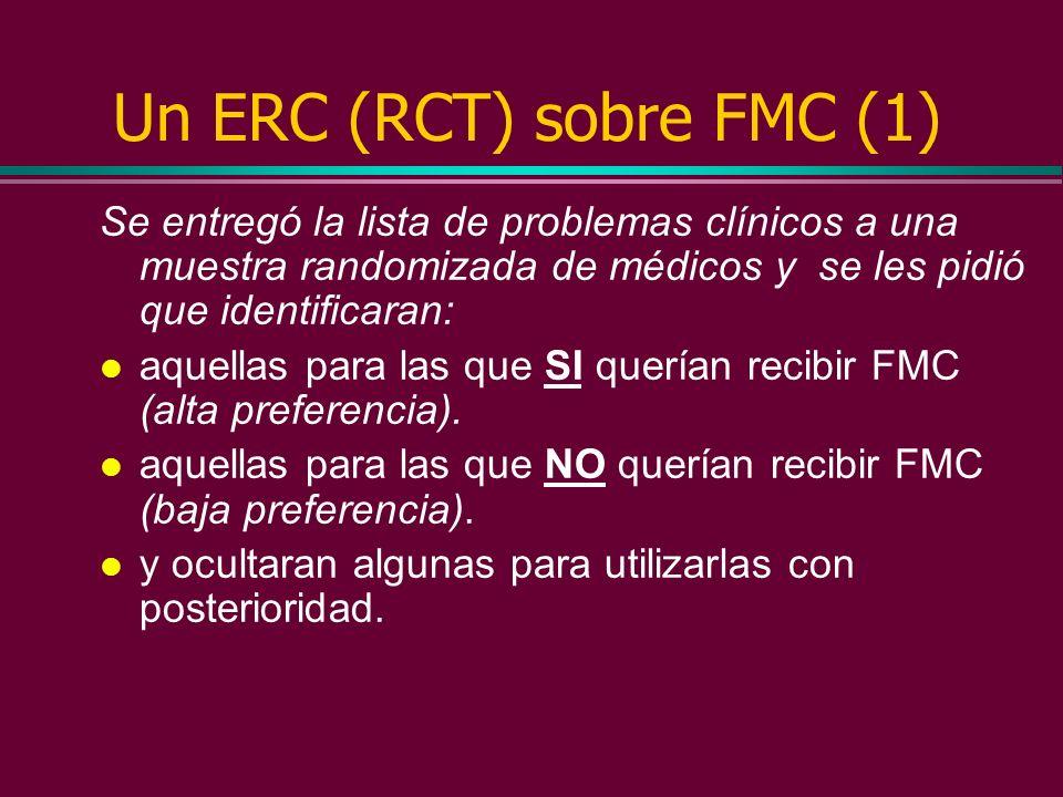 Un ERC (RCT) sobre FMC (1)