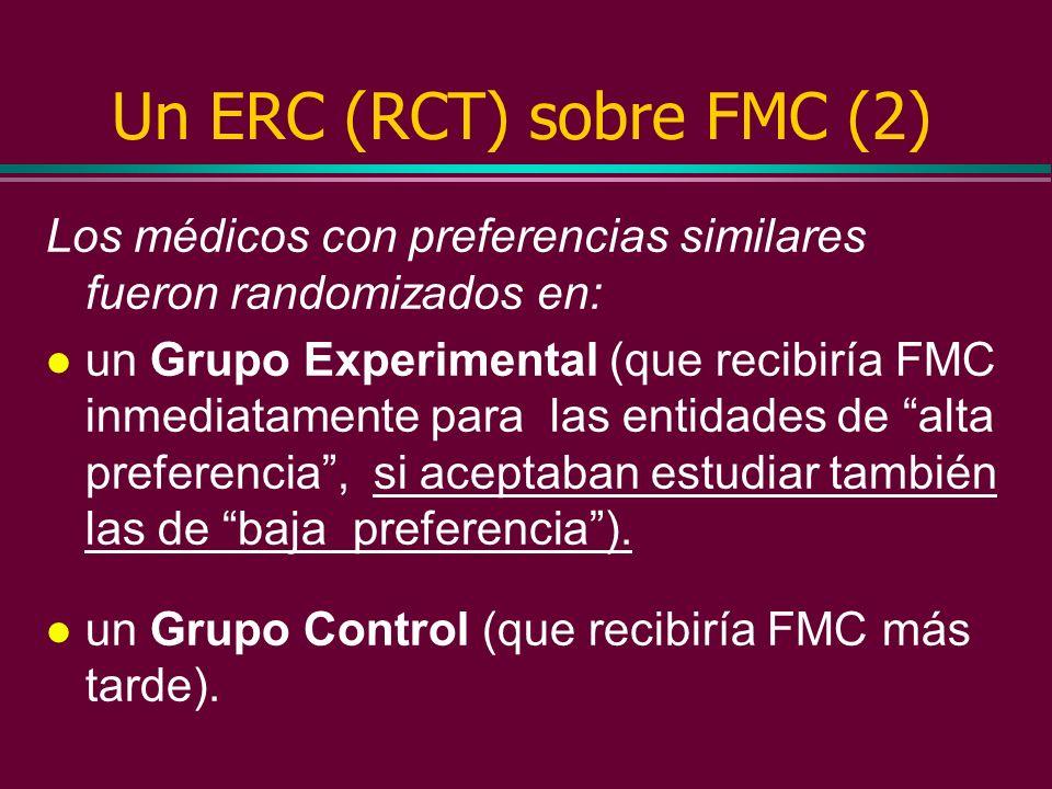 Un ERC (RCT) sobre FMC (2)