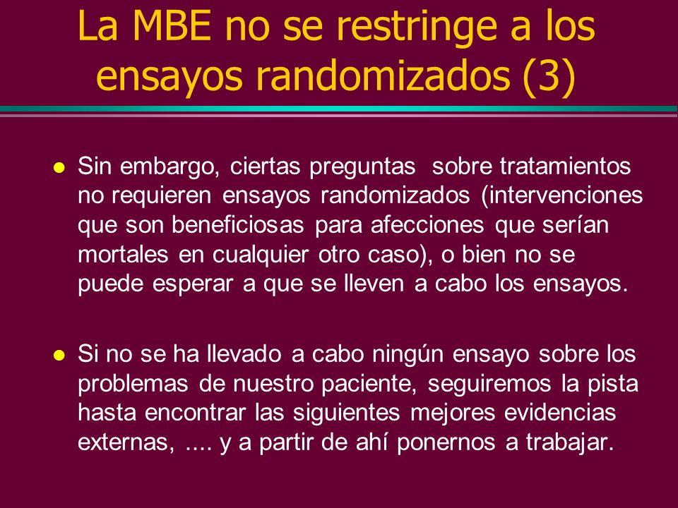 La MBE no se restringe a los ensayos randomizados (3)