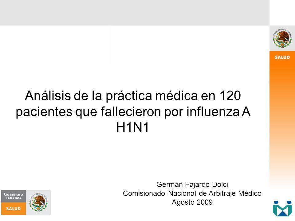 Comisionado Nacional de Arbitraje Médico