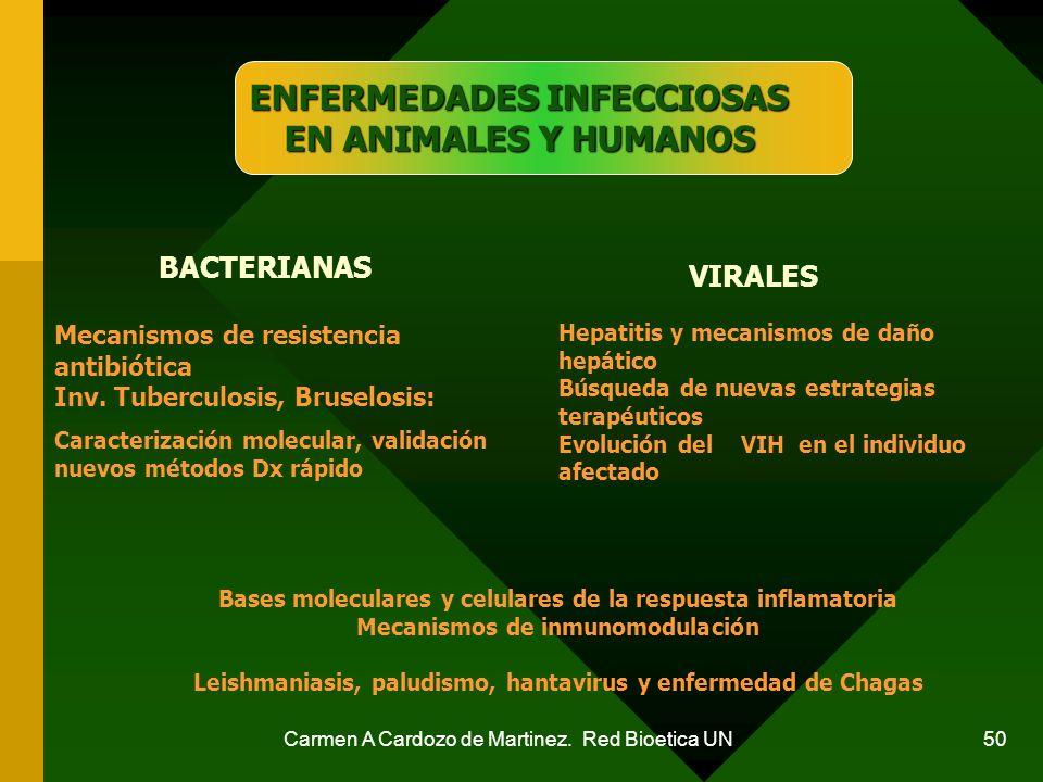 ENFERMEDADES INFECCIOSAS EN ANIMALES Y HUMANOS