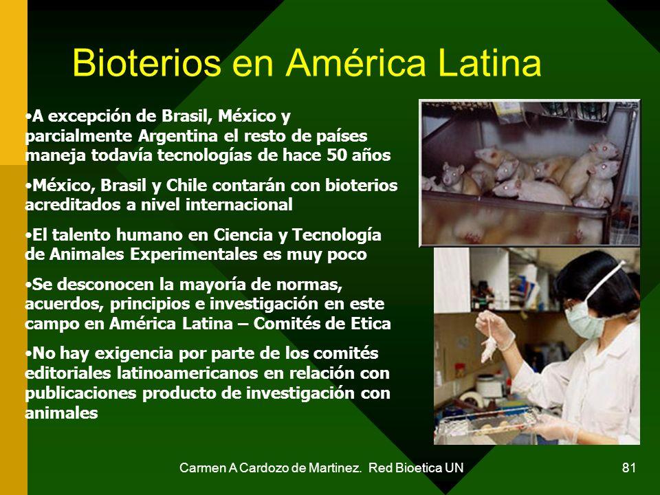Bioterios en América Latina