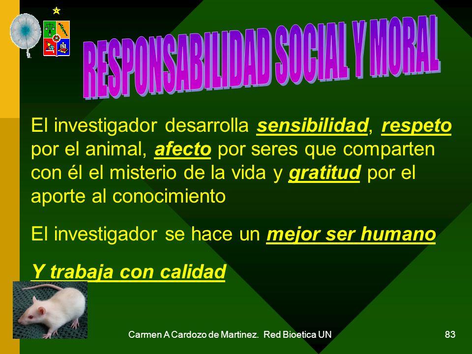 RESPONSABILIDAD SOCIAL Y MORAL