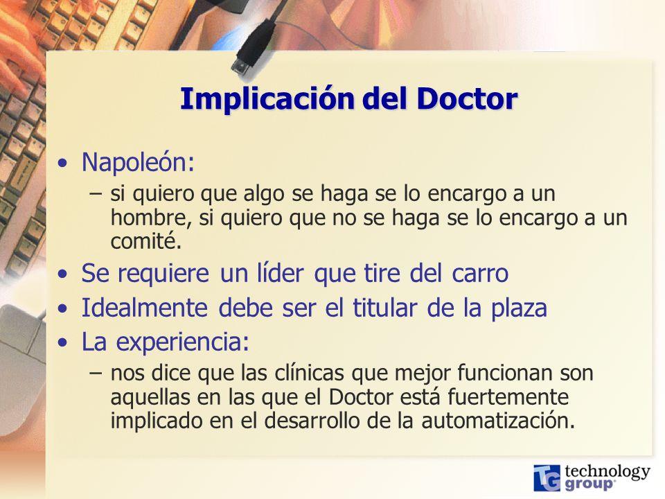 Implicación del Doctor