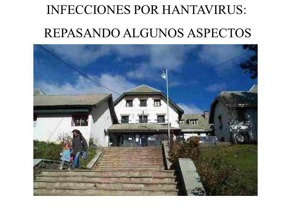 INFECCIONES POR HANTAVIRUS: