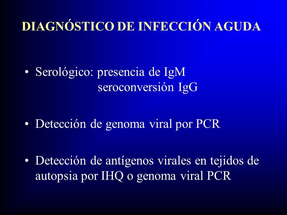 DIAGNÓSTICO DE INFECCIÓN AGUDA