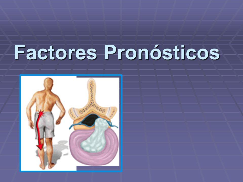 Factores Pronósticos
