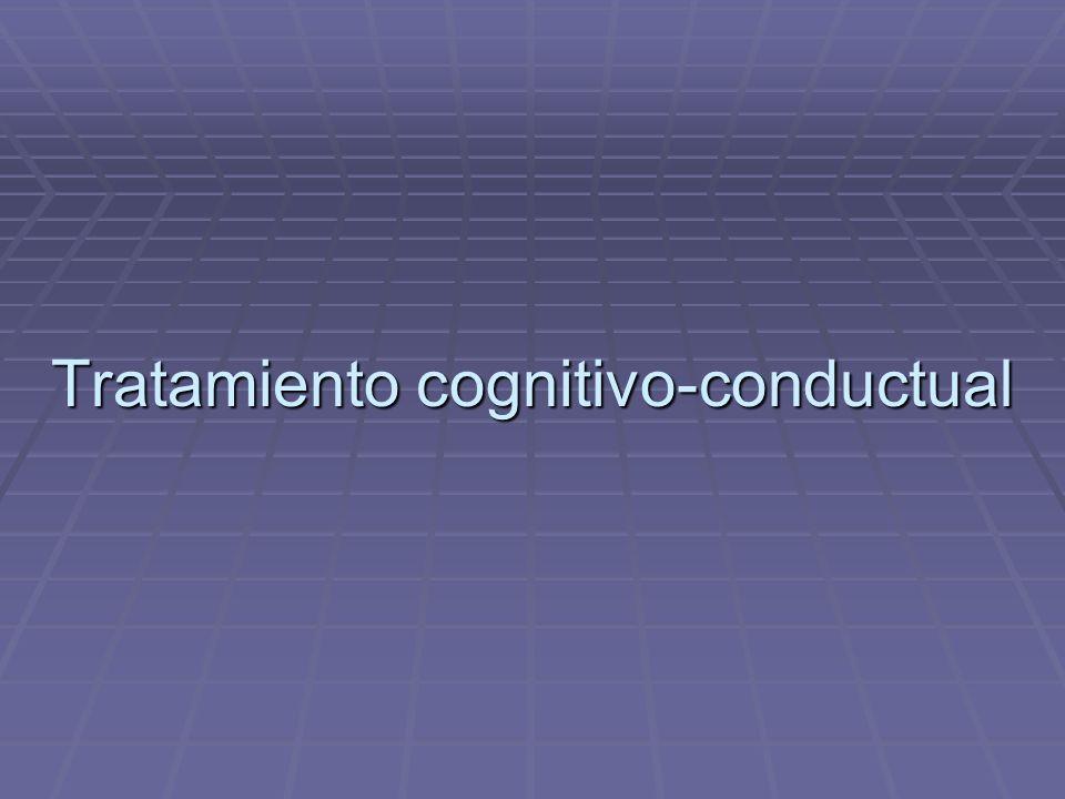 Tratamiento cognitivo-conductual