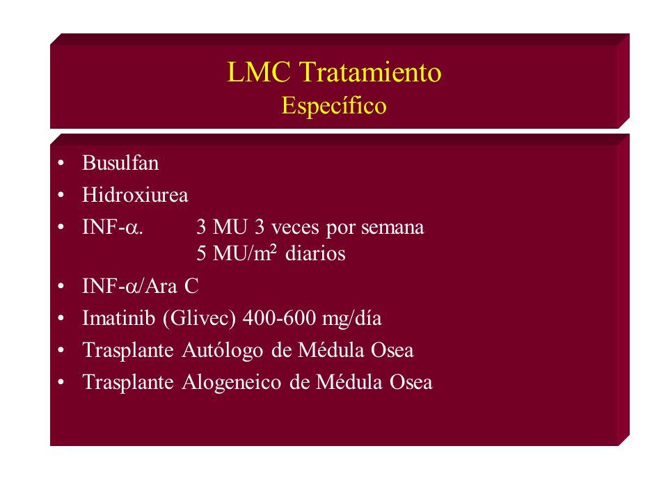 LMC Tratamiento Específico