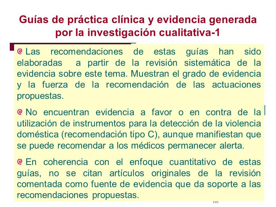 Guías de práctica clínica y evidencia generada por la investigación cualitativa-1