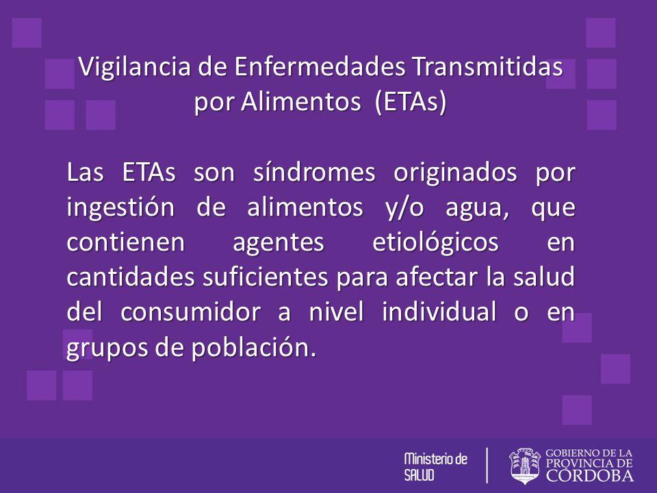 Vigilancia de Enfermedades Transmitidas por Alimentos (ETAs)