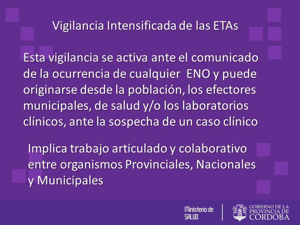Vigilancia Intensificada de las ETAs