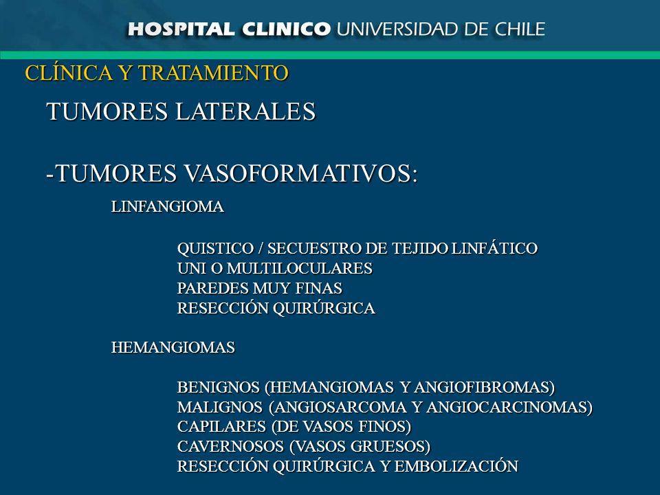 TUMORES VASOFORMATIVOS: LINFANGIOMA