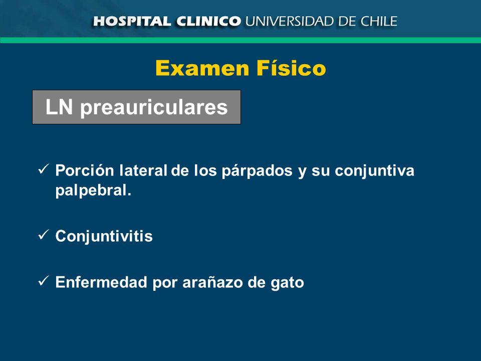Examen Físico LN preauriculares
