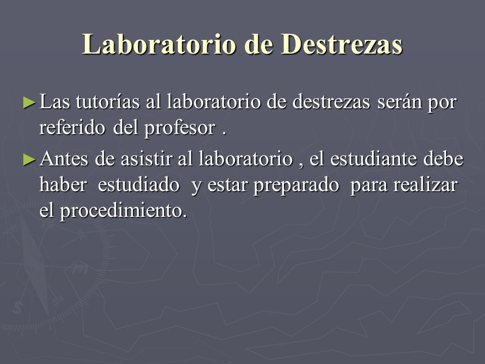 Laboratorio de Destrezas