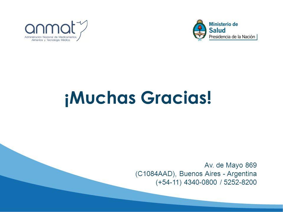¡Muchas Gracias! Av. de Mayo 869 (C1084AAD), Buenos Aires - Argentina