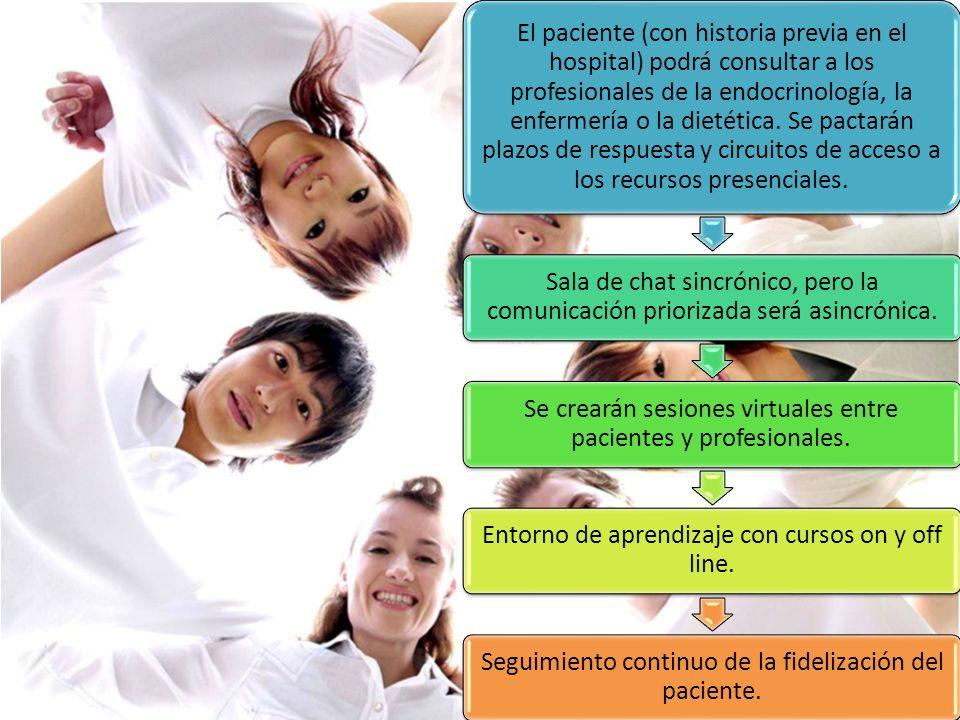 Se crearán sesiones virtuales entre pacientes y profesionales.