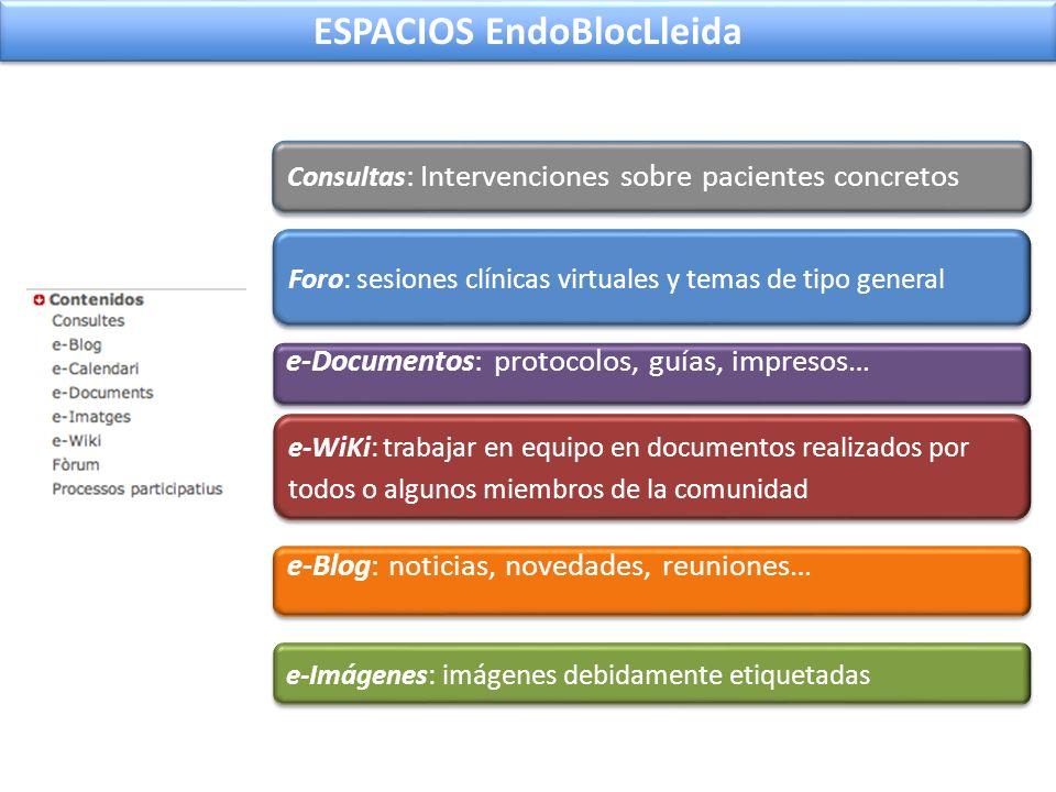 ESPACIOS EndoBlocLleida