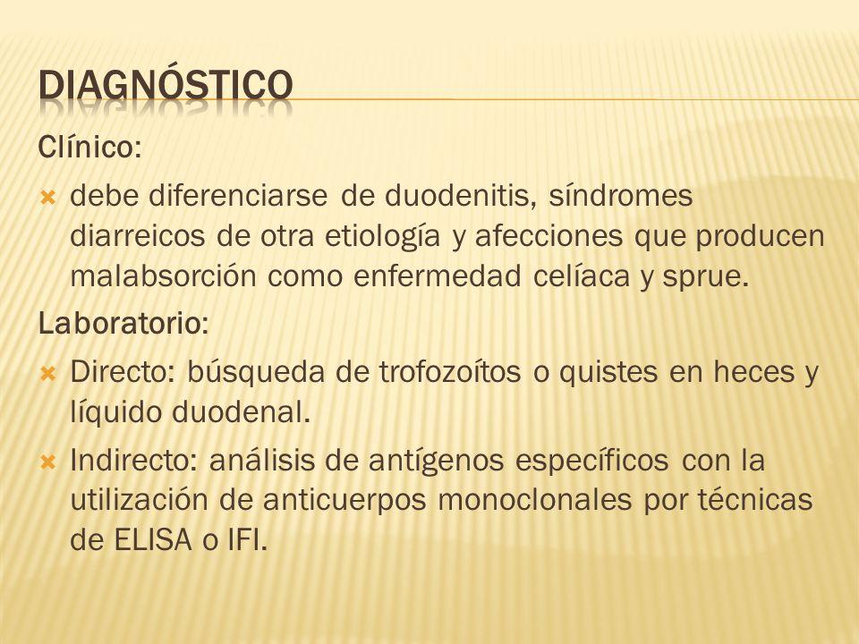 DIAGNÓSTICO Clínico: