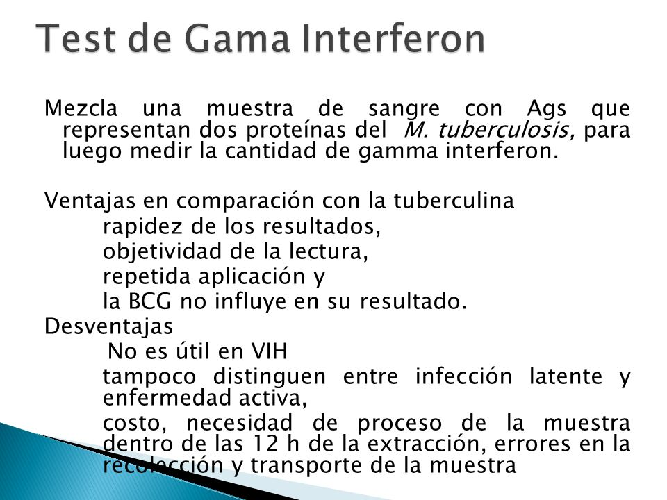 Test de Gama Interferon